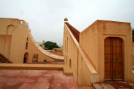 The Jantar Mantar historic celestial observatory built in 1728